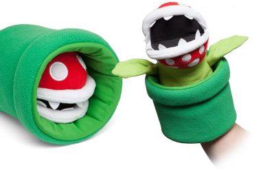 Puppet pianta carnivora di Super Mario