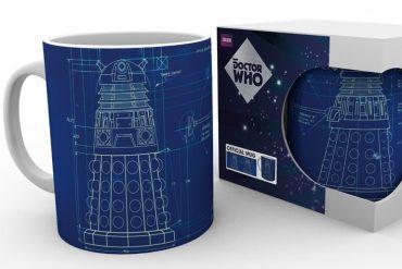 Mug Dalek Blueprint
