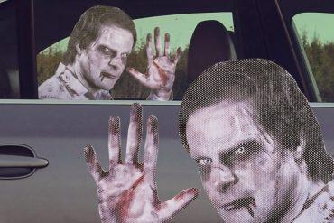 Adesivo da finestrino Zombie