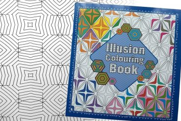 Libro da colorare: Illusioni ottiche