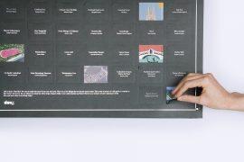 Poster 100 luoghi da visitare