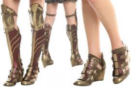 Stivali di Wonder Woman