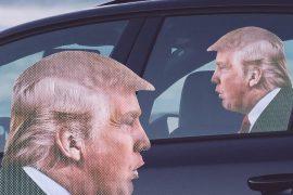 Adesivo da finestrino Donald Trump
