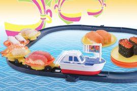 Barca con nastro di Sushi