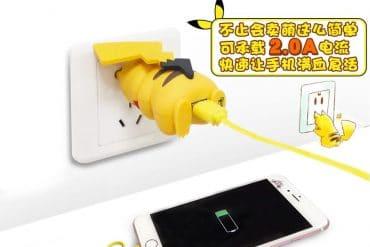 Caricabatterie USB Pikachu