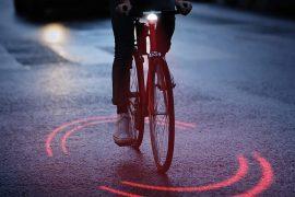 Laser per bici di Michelin Bikesphere