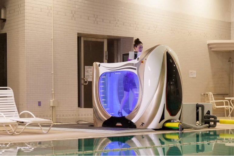 Riempire La Vasca Da Bagno In Inglese : Water treadmill dottorgadget
