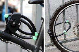 Lucchetto pieghevole per biciclette Enkeeo
