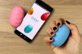 Oriori - Controller a pressione per smartphone