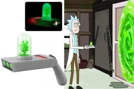 Pistola spara portali di Rick and Morty