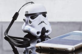Speaker Bluetooth Stormtrooper