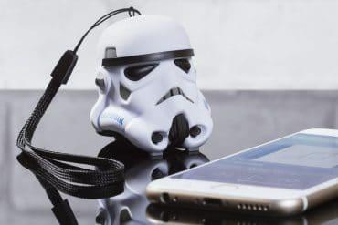 Speaker Bluetooth Stormtrooper