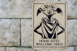 Targa Harry Potter di Dobby
