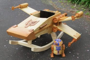X-Wing a dondolo per bambini