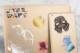 Adesivi artistici di Star Wars