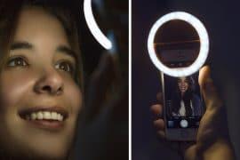 Anello LED per selfie