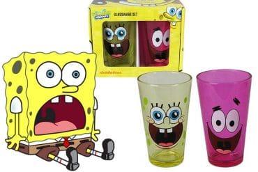 Bicchieri di SpongeBob