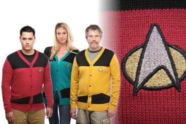 I cardigan di Star Trek
