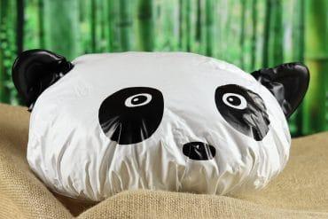 Cuffia da doccia Panda