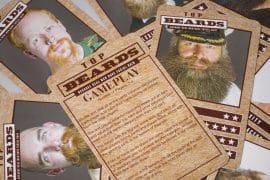 Gioco di carte barbe
