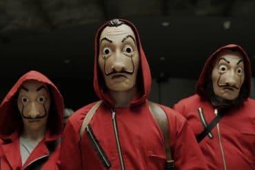 Maschera Salvador Dalì de La casa di carta