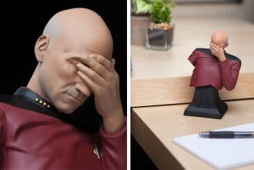 Busto del Capitano Picard Facepalm