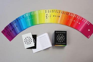Carte da gioco arcobaleno
