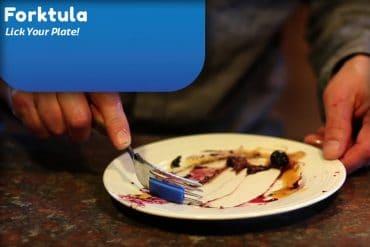 Forktula, la spatola da forchetta