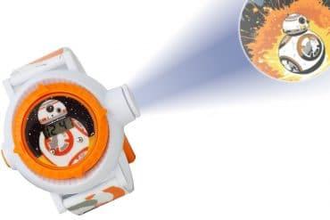 Orologio con proiettore di BB-8