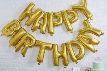 Palloncini Happy Birthday