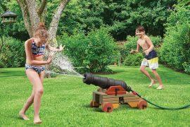 Cannone navale ad acqua
