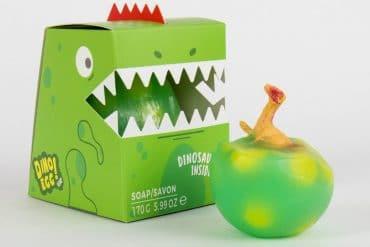Saponetta uovo di dinosauro