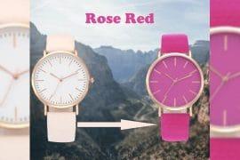Orologio cambia colore con raggi UV