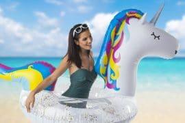 Ciambella Unicorno con brillantini