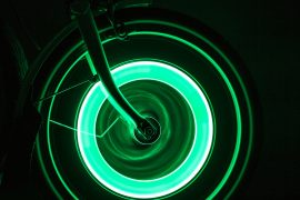 Luci da ruota per biciclette
