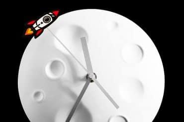 Orologio Rocket Moon