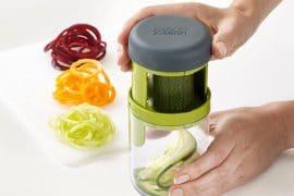 Crea spaghetti di verdure con Spiro