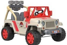 Jeep Jurassic Park per bambini