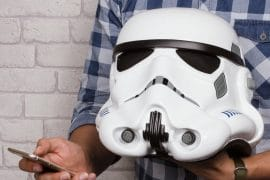 Speaker Bluetooth Stormtrooper scala 1:1