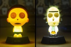 Mini Rick e Morty luminosi