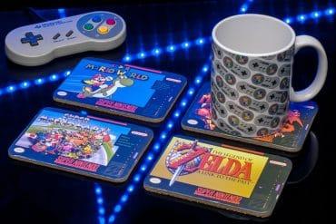 Sottobicchieri Super Nintendo