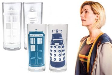 Bicchieri termosensibili Doctor Who