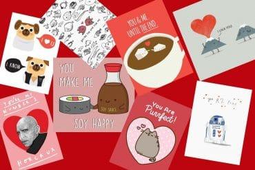 Biglietti di auguri per San Valentino