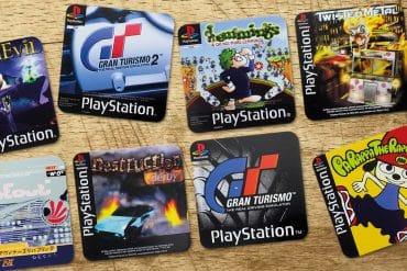 Sottobicchieri PlayStation – Giochi