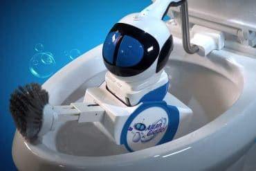 Robot pulisci WC