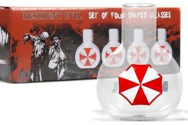 Bicchierini Umbrella Resident Evil