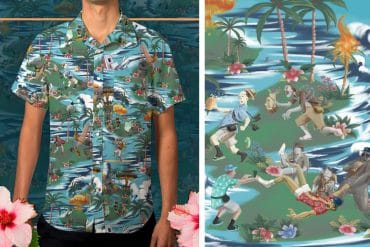 Camicia hawaiana Apocaloha!