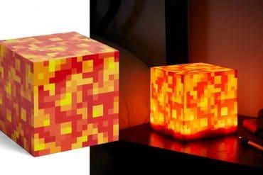 Lampada lava Minecraft