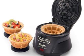 Piastra per scodelle di waffle