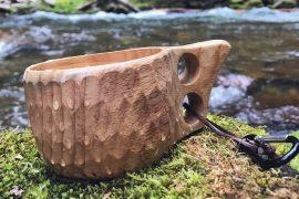 Tazza di legno Kuksa